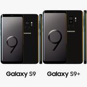 Samsung Galaxy S9/S9+ Midnight Black 3d model
