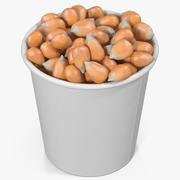Corn Kernels in Cup 3d model