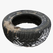 Dirty Tire 3d model