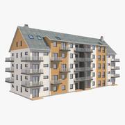 Multi Family House_1 3d model