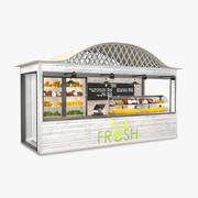 Magasin de fruits 3d model