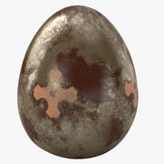 Brown Easter Egg 3d model