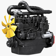 Diesel Engine 3d model