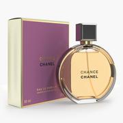 Parfum Chanel Chance Eau Parfum Vaporisateur with Box 3d model
