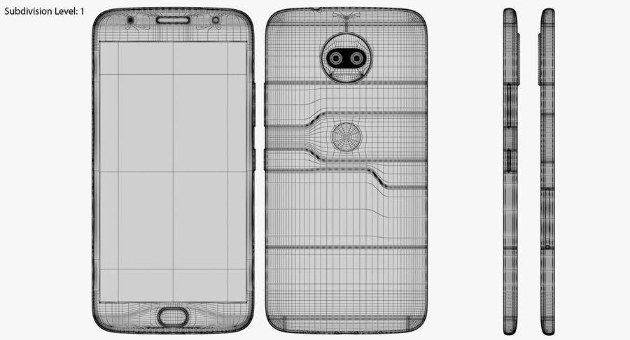 Motorola Moto G5S Plus Gray royalty-free 3d model - Preview no. 20