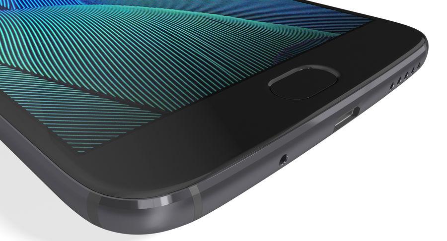 Motorola Moto G5S Plus Gray royalty-free 3d model - Preview no. 16