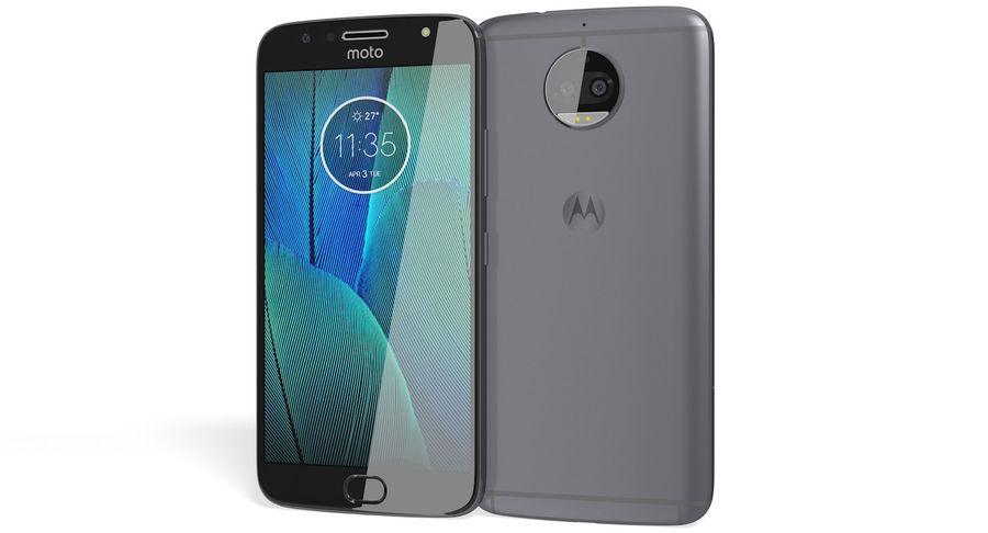 Motorola Moto G5S Plus Gray royalty-free 3d model - Preview no. 2