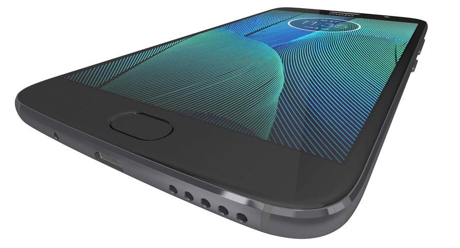 Motorola Moto G5S Plus Gray royalty-free 3d model - Preview no. 11