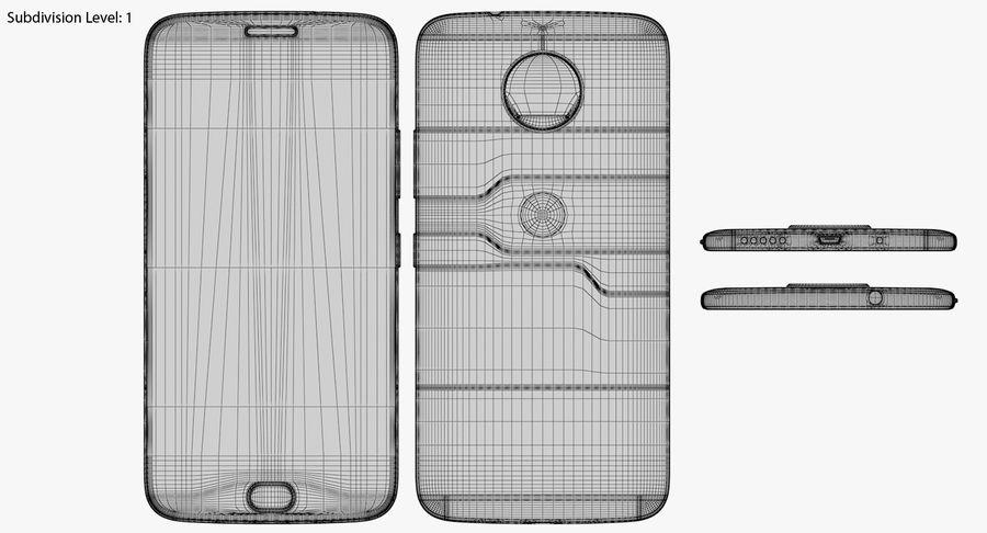 Motorola Moto G5S Plus Gray royalty-free 3d model - Preview no. 18