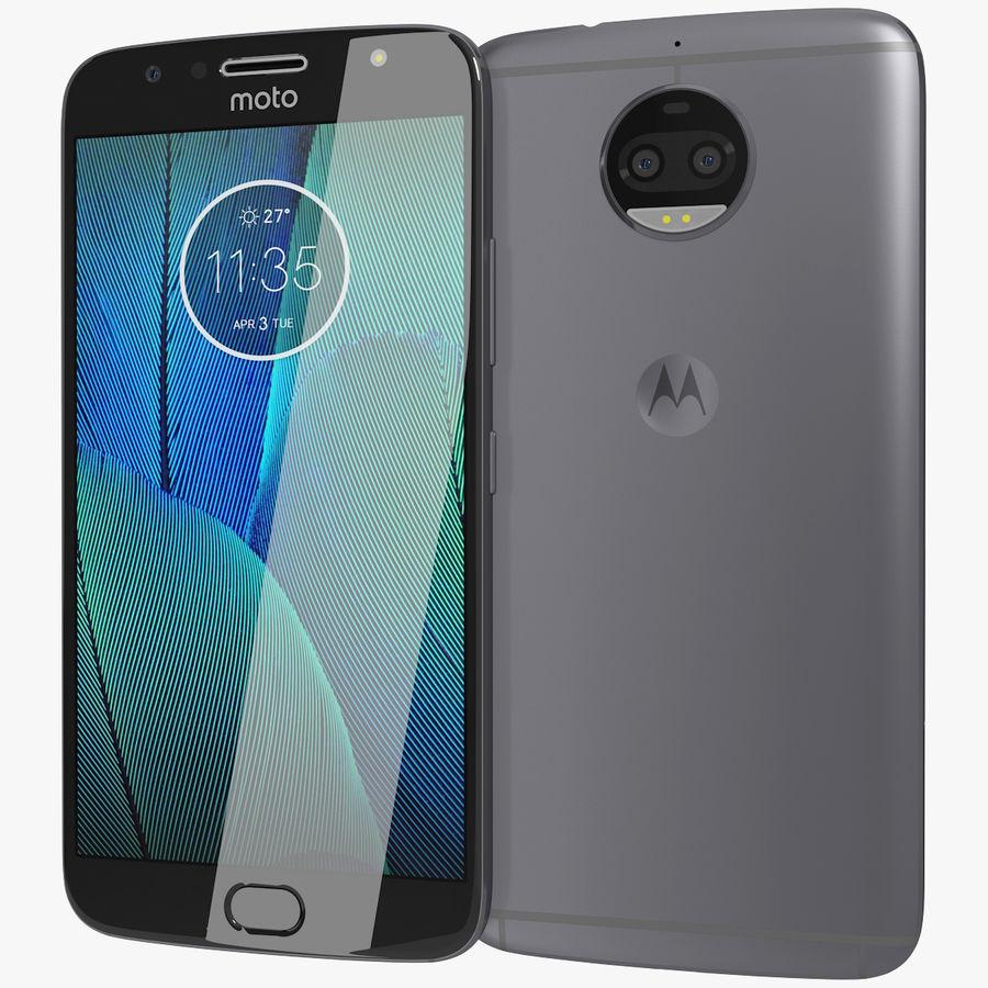 Motorola Moto G5S Plus Gray royalty-free 3d model - Preview no. 1