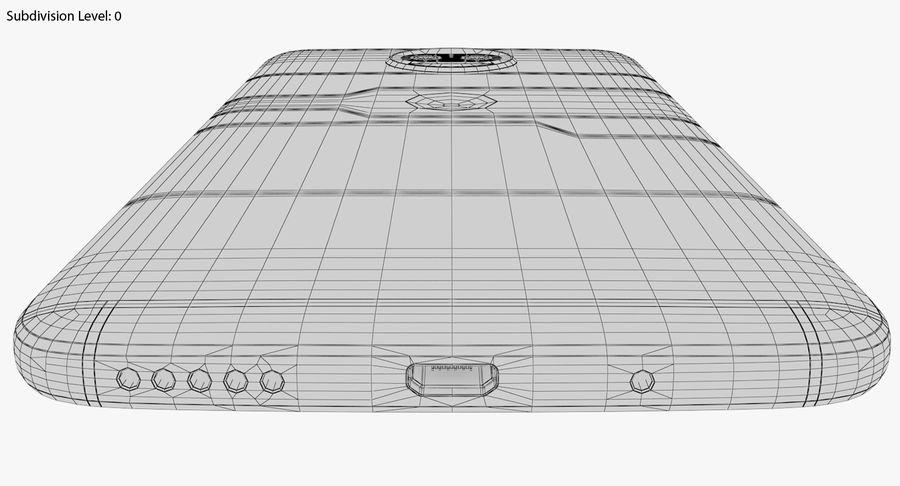 Motorola Moto G5S Plus Gray royalty-free 3d model - Preview no. 25