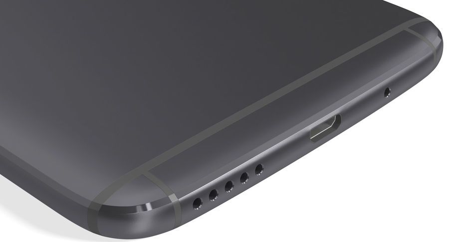 Motorola Moto G5S Plus Gray royalty-free 3d model - Preview no. 14