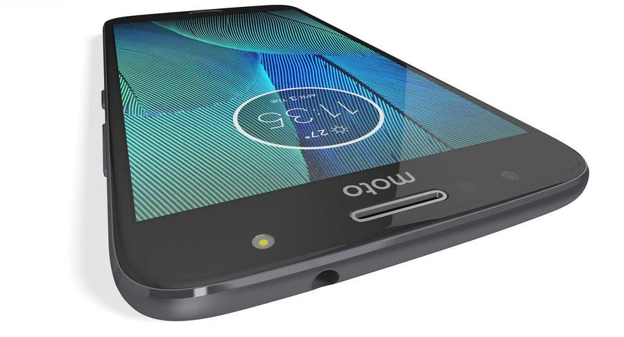 Motorola Moto G5S Plus Gray royalty-free 3d model - Preview no. 9