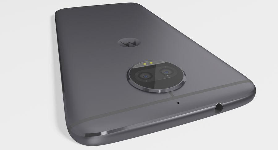 Motorola Moto G5S Plus Gray royalty-free 3d model - Preview no. 7