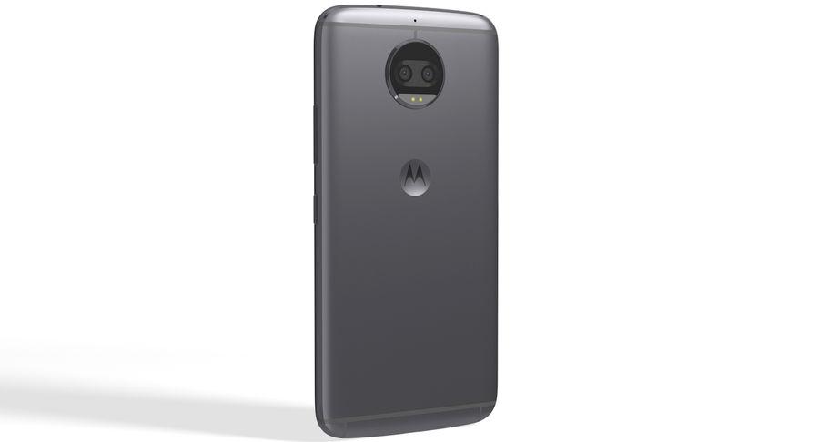 Motorola Moto G5S Plus Gray royalty-free 3d model - Preview no. 3
