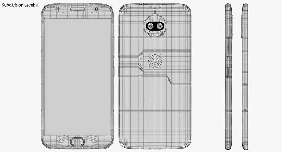 Motorola Moto G5S Plus Gray royalty-free 3d model - Preview no. 19