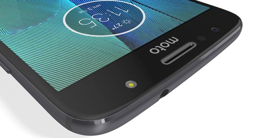 Motorola Moto G5S Plus Gray royalty-free 3d model - Preview no. 15