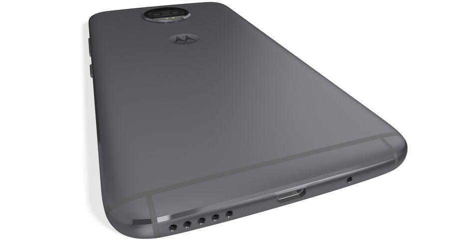 Motorola Moto G5S Plus Gray royalty-free 3d model - Preview no. 6