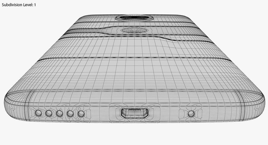 Motorola Moto G5S Plus Gray royalty-free 3d model - Preview no. 26