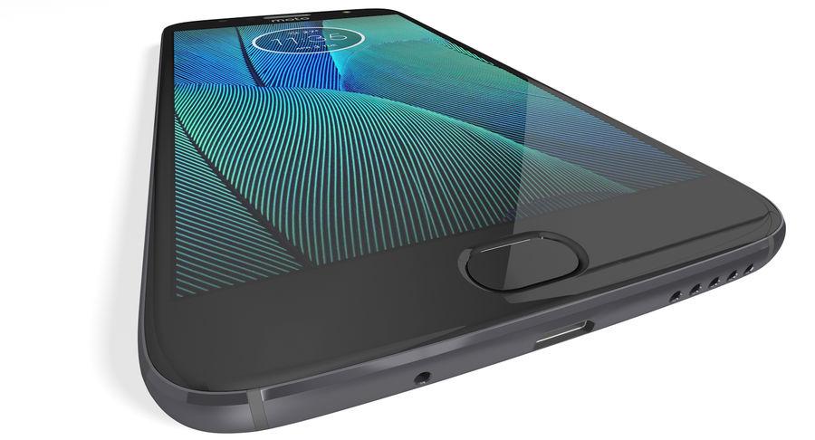 Motorola Moto G5S Plus Gray royalty-free 3d model - Preview no. 10