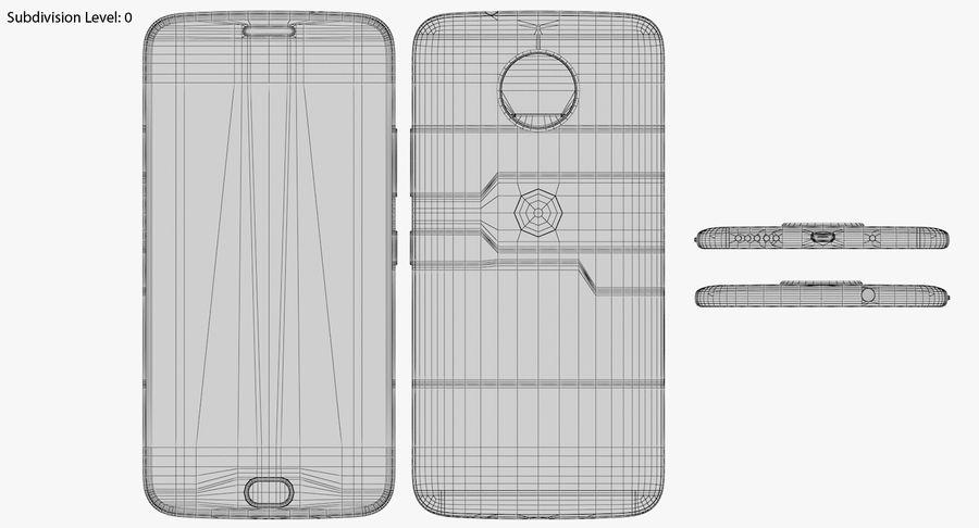 Motorola Moto G5S Plus Gray royalty-free 3d model - Preview no. 17