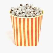 Popcorn i koppen 3d model