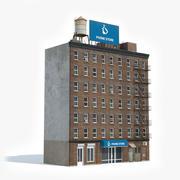 Apartment Building 40 3d model