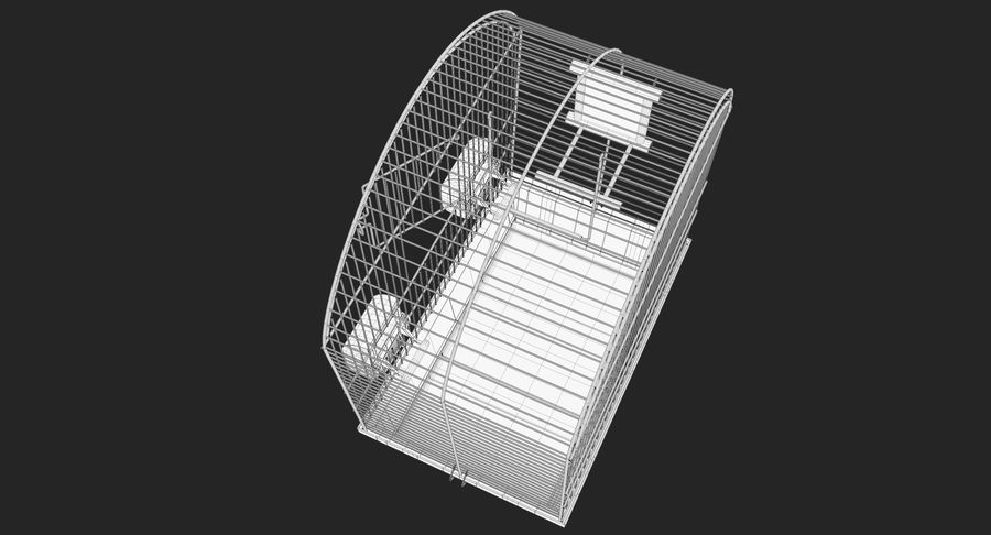 Bird Cage royalty-free 3d model - Preview no. 13
