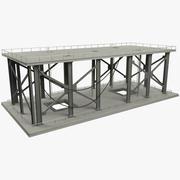 Truss Floor 3d model