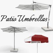 Patio Paraplyer 3D Models Collection 3d model