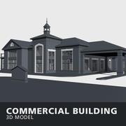 상업용 건물 3d model