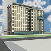 Palazzo delle entrate del governo 3d model