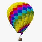 Balão de ar quente 3d model