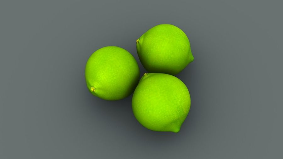 Limone royalty-free 3d model - Preview no. 5