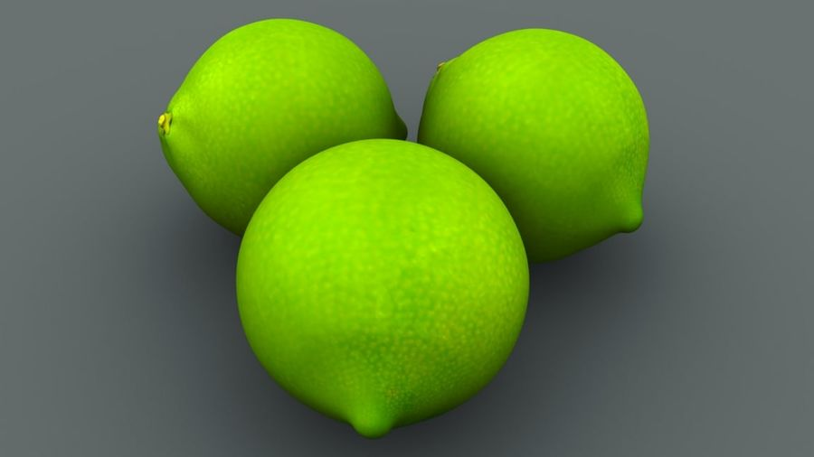 Limone royalty-free 3d model - Preview no. 2
