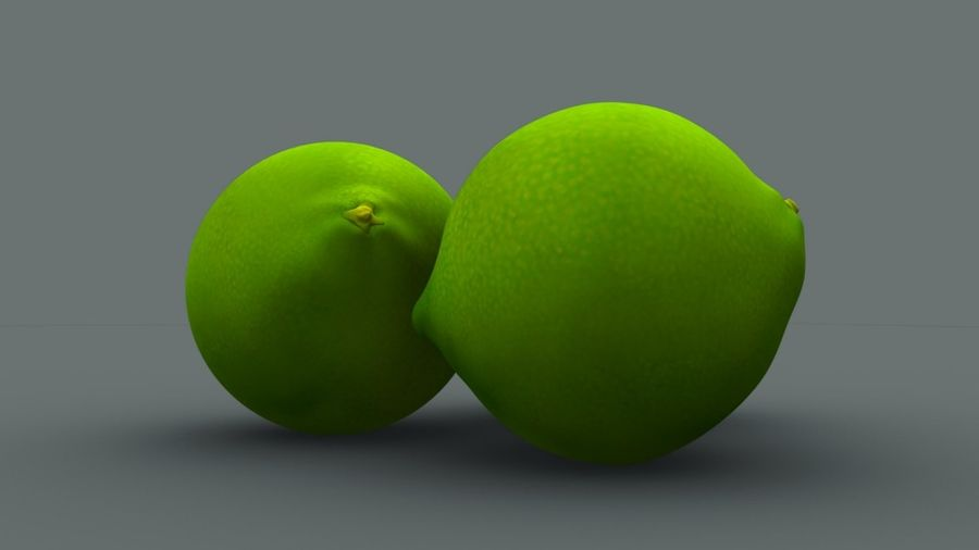 Limone royalty-free 3d model - Preview no. 1