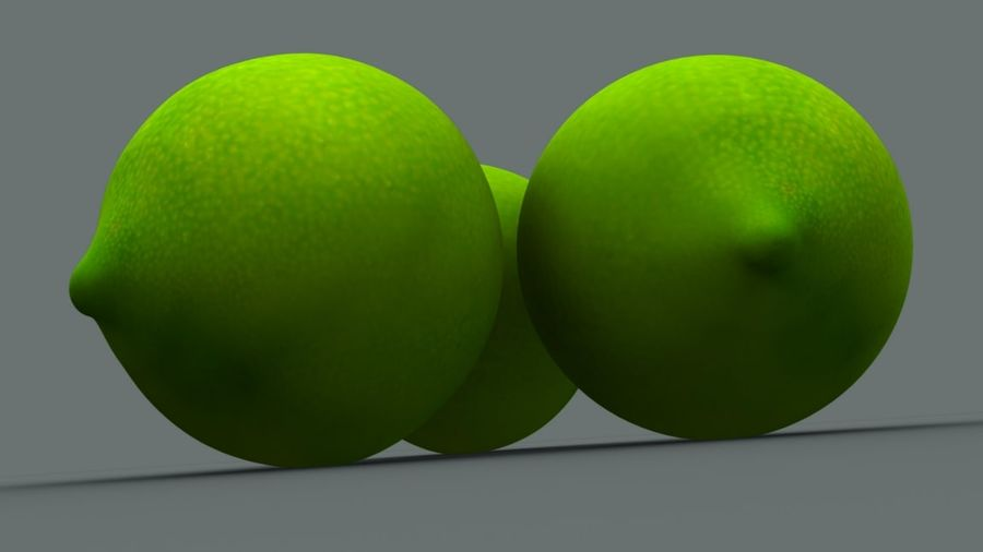 Limone royalty-free 3d model - Preview no. 4