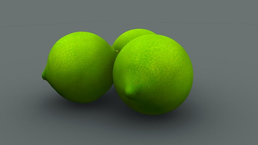 Limone royalty-free 3d model - Preview no. 3