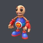Buddy ragdoll toy 3d model