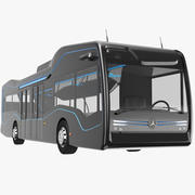 Mercedes Future Bus Svart 3d model