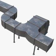 Lüftungskanal 3d model