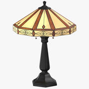 Classical Table Light On 3d model