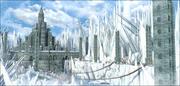 ファンタジー冷凍城 3d model
