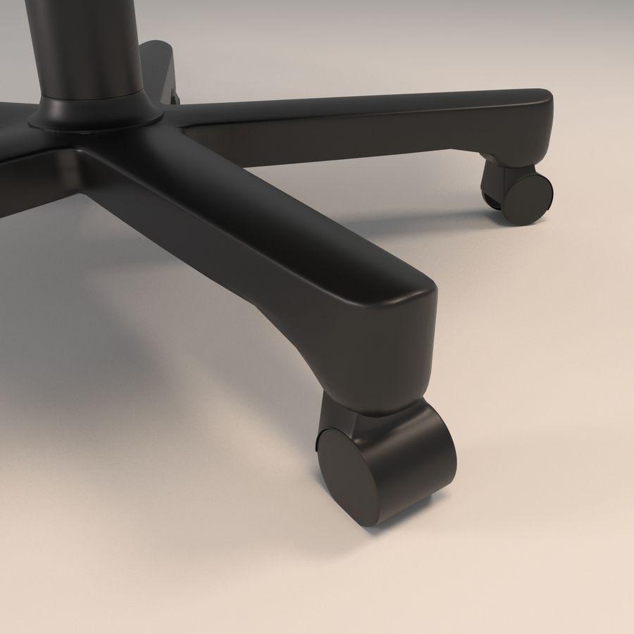 办公椅(1) royalty-free 3d model - Preview no. 8