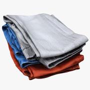 Montón de ropa 01 modelo 3d