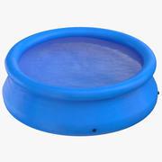 Opblaasbaar zwembad 01 3d model