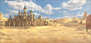 Desert_Goblins Fantasy Castle 3d model