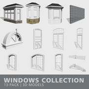 Collection Windows 3d model