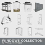 Windows集合 3d model