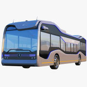 Mercedes Benz Future Electric Bus 3d model